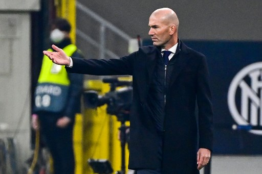 Zidane reveals Real Madrid hunger after UCL semi final qualification